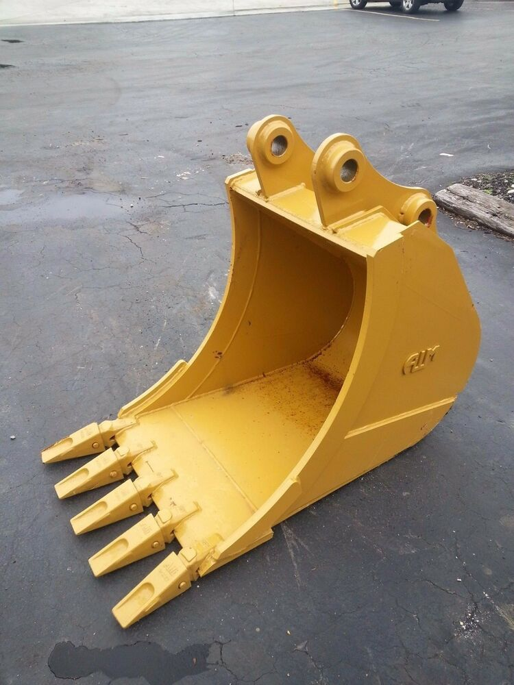 Excavator Bucket : New quot caterpillar  d e excavator bucket ebay