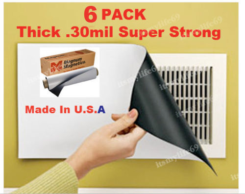 6 8 Quot X15 Quot New Heavy Duty Magnetic Register Vent Covers Ebay