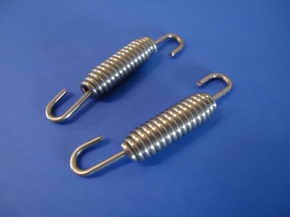 Stainless steel exhaust springs mm expansion