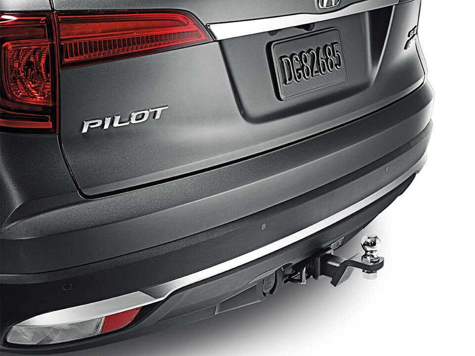 genuine oem honda pilot trailer hitch 2016 2017 08l92 tg7 100 ebay. Black Bedroom Furniture Sets. Home Design Ideas