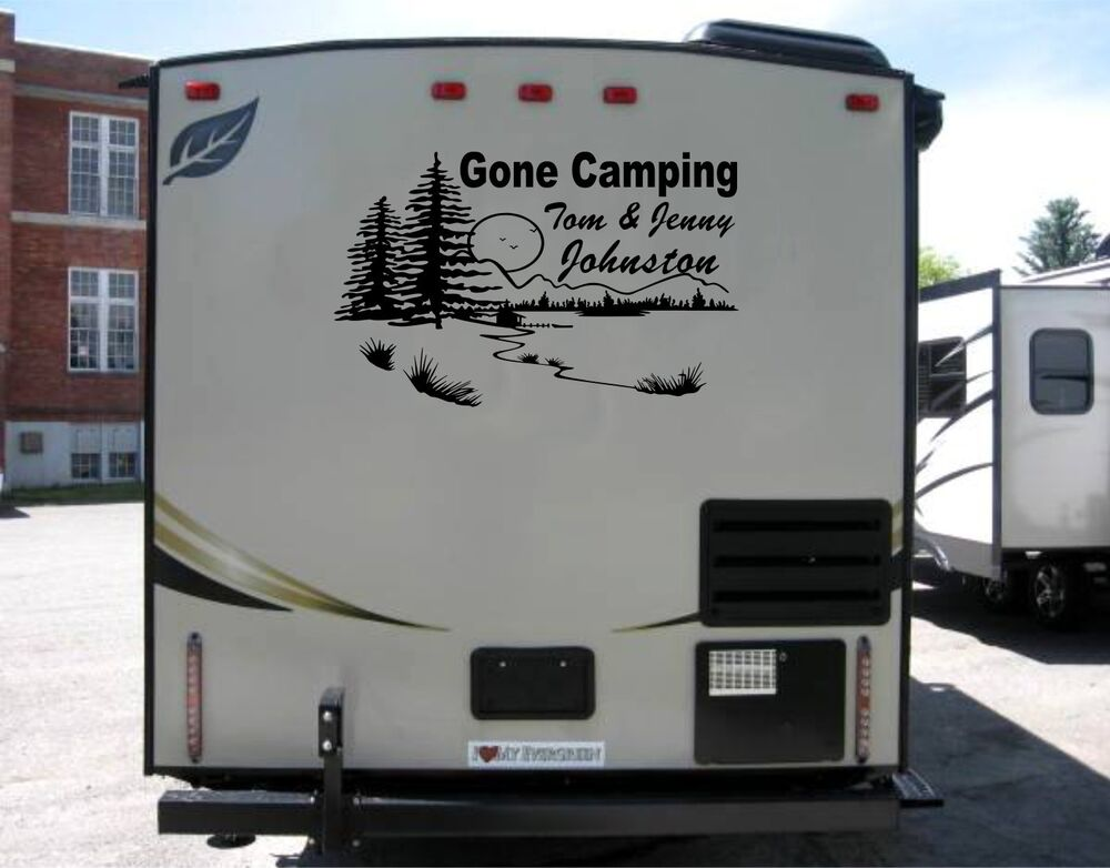 Fantastic Calgary Camper Wraps Pin Striping RV Decals Graphics Trailers