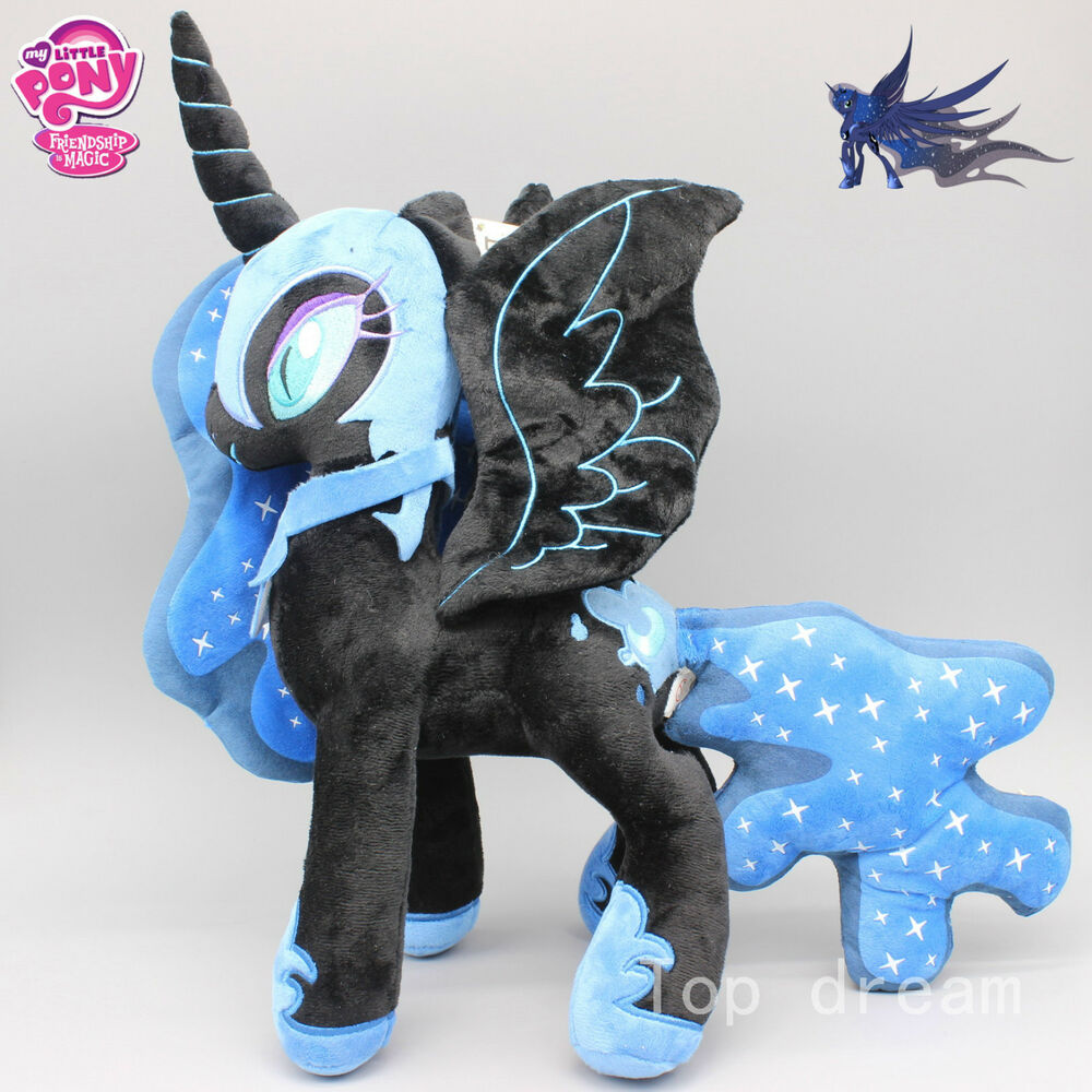 My Little Pony Princess Luna Nightmare Moon Plush Toy Soft ...