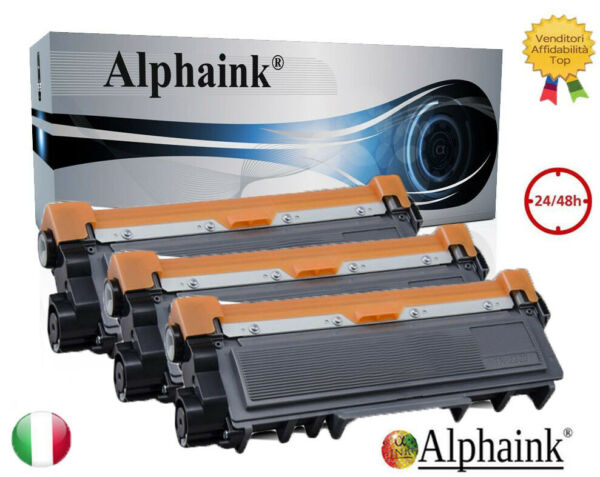 3 TONER TN-2320 COMPATIBILE BROTHER MFC L2700 L2300D L2740 DCPL2560 L2760 L2500D