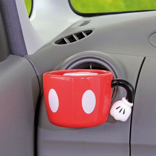 new disney mickey mouse cup holder phone holder car accessories ebay. Black Bedroom Furniture Sets. Home Design Ideas