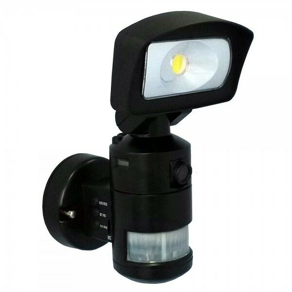 Porch Light With Camera Costco: NightWatcher NW720 PIR Robotic LED Security Light SD CCTV