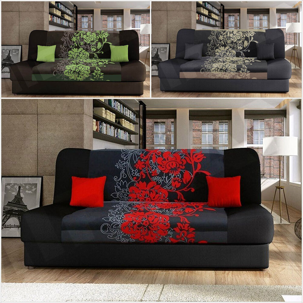 schlafsofa sofa couch schlaffunktion polsterecke nella sving mit bettkasten ebay. Black Bedroom Furniture Sets. Home Design Ideas