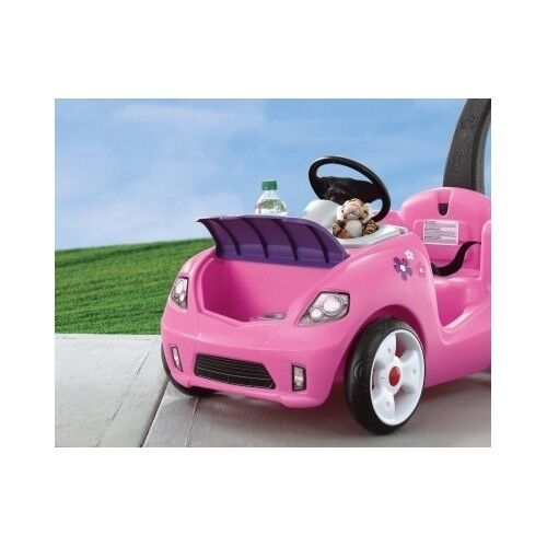vehicles for kids step 2 push around buggy toy cars to ride step2 pink whisper ebay. Black Bedroom Furniture Sets. Home Design Ideas