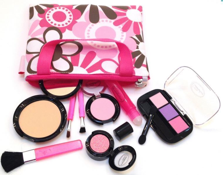 makeup kits for little girls. little cosmetics kit pretend play makeup set girls preschool kid beauty toy game | ebay kits for s