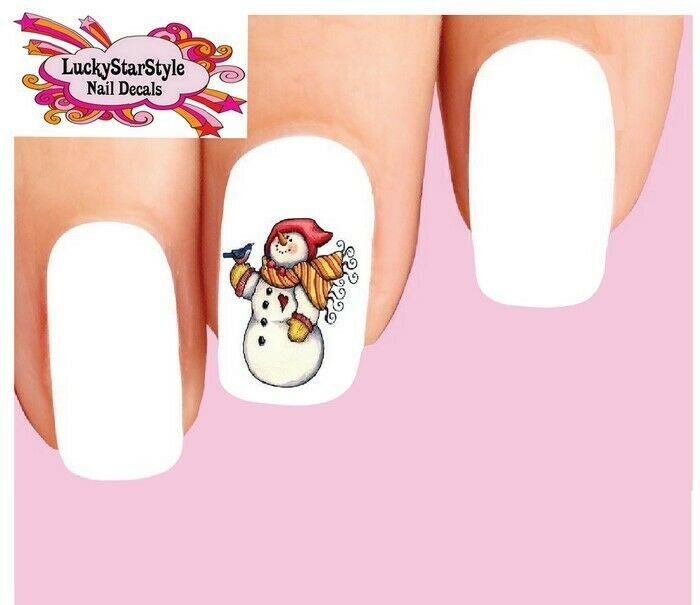 Waterslide Nail Decals Set of 20 - Holiday Christmas ...