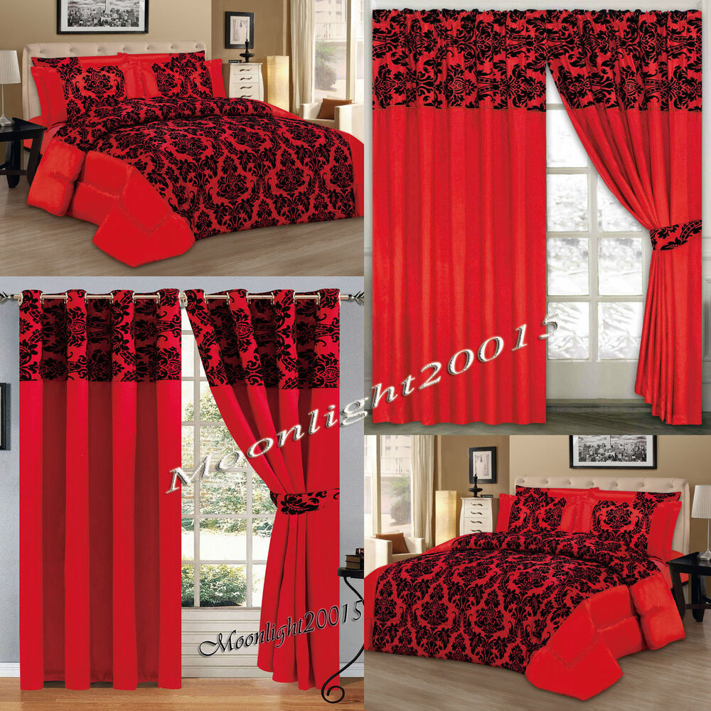 Cot bedding and curtain sets