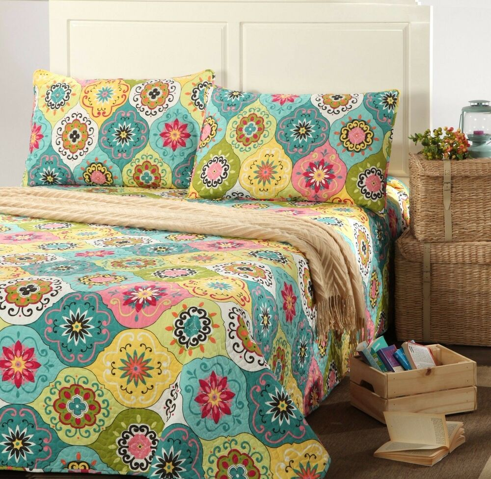 Tache Colorful Floral Blue Amp Yellow Leap Into Spring