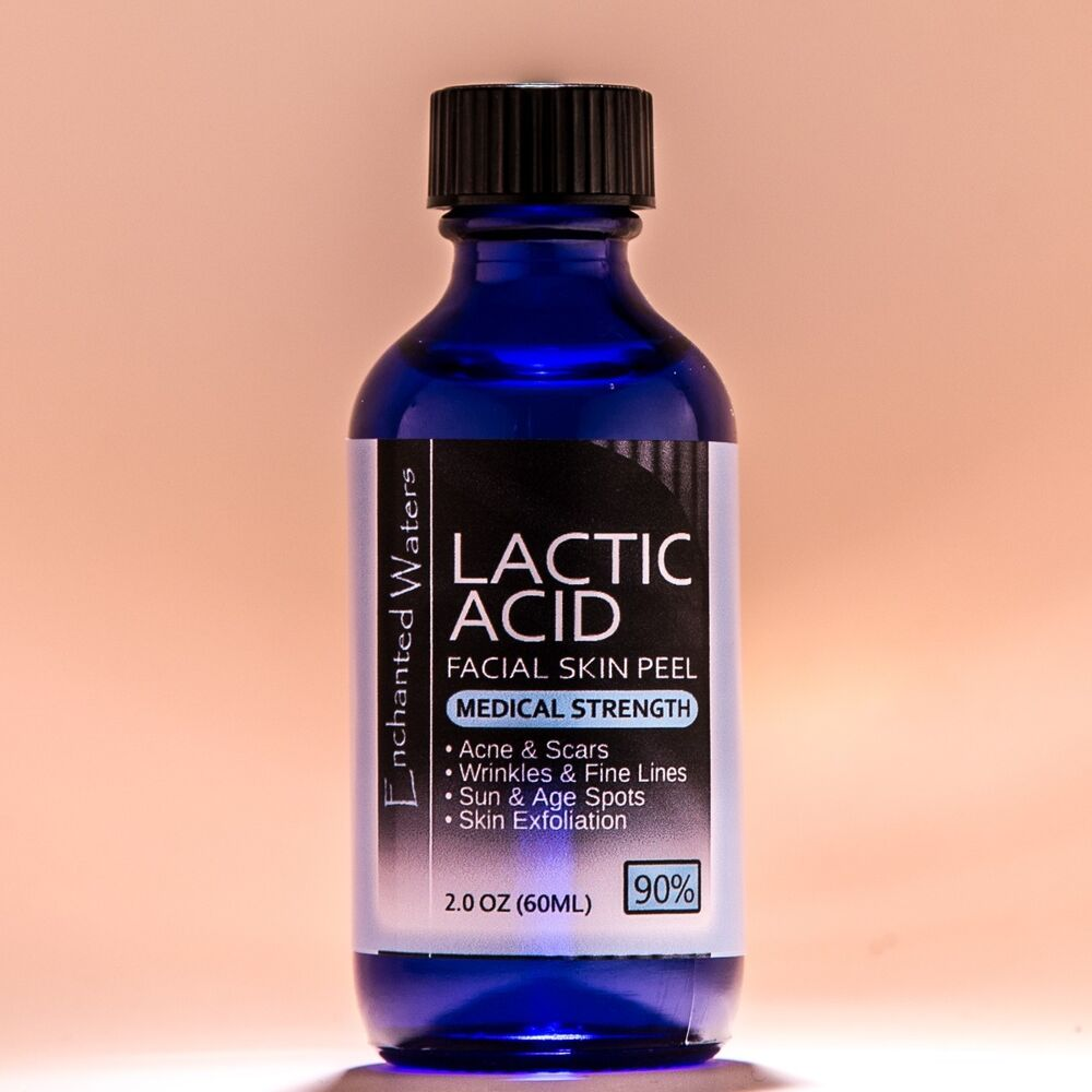 how to use lactic acid peel at home