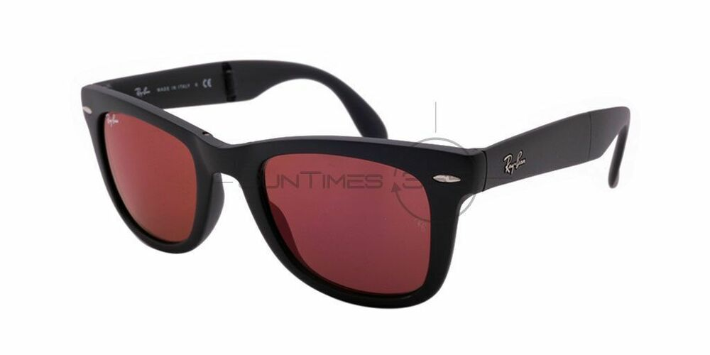 de1b91bd63 Ray Bans Red And Black