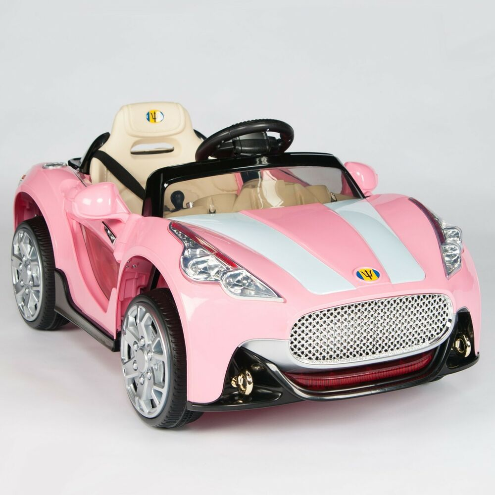 Maserati Style 12V Kids Ride On Car Electric Power Wheels