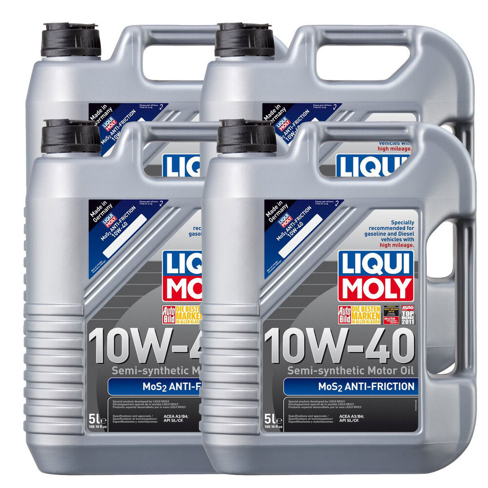 liqui moly mos2 anti friction 10w40 20 liters 2043 motor. Black Bedroom Furniture Sets. Home Design Ideas