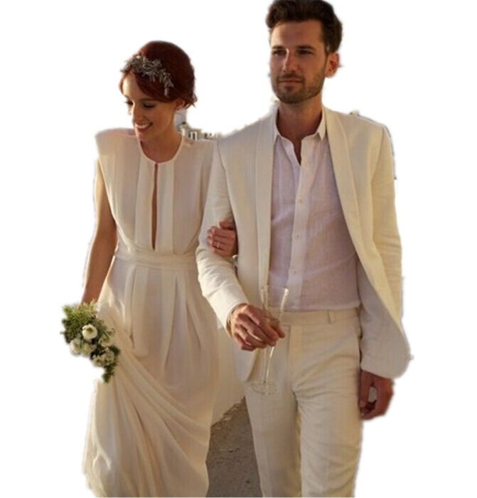 Casual Beach Wedding Attire For Men