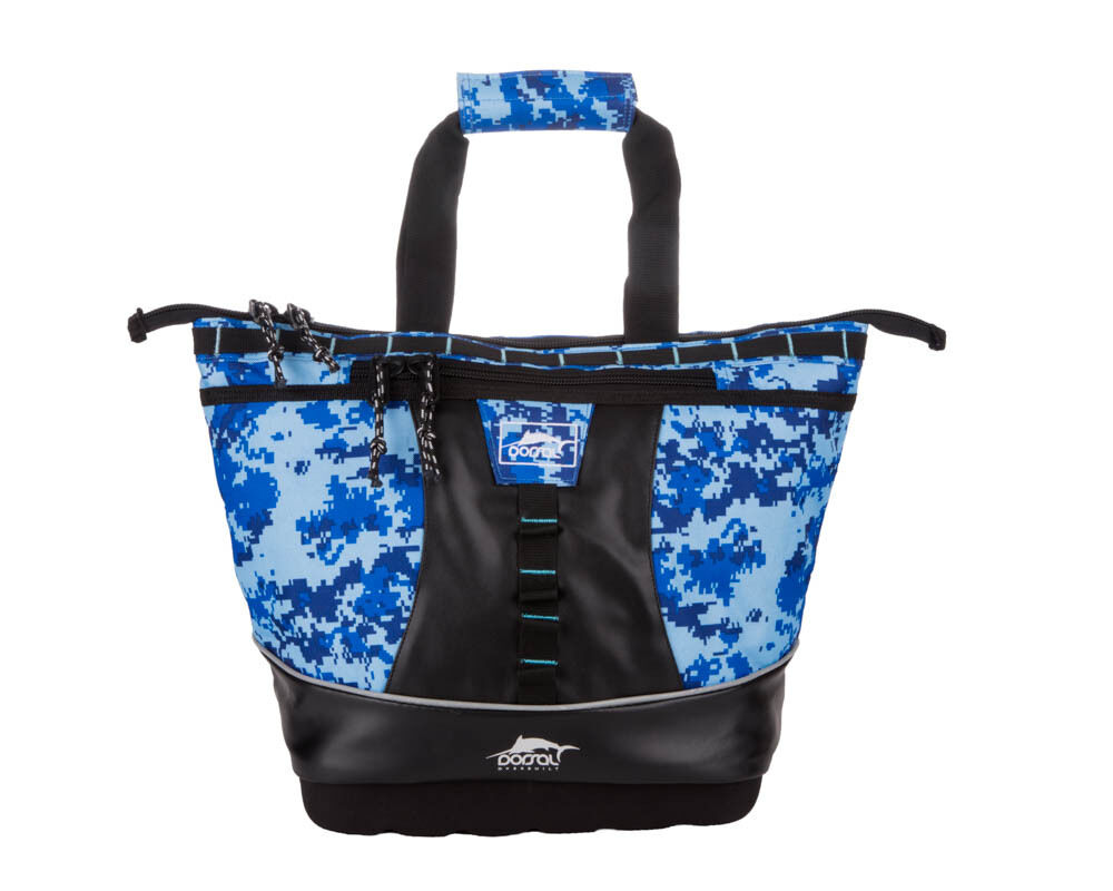 Camo Soft Cooler ~ Dorsal leakproof soft cooler w replacable liner small blue