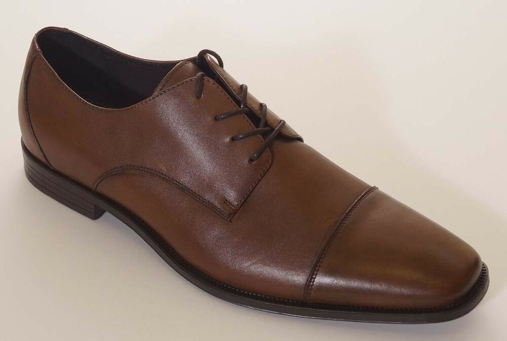 Mens Cognac Oxford Shoes