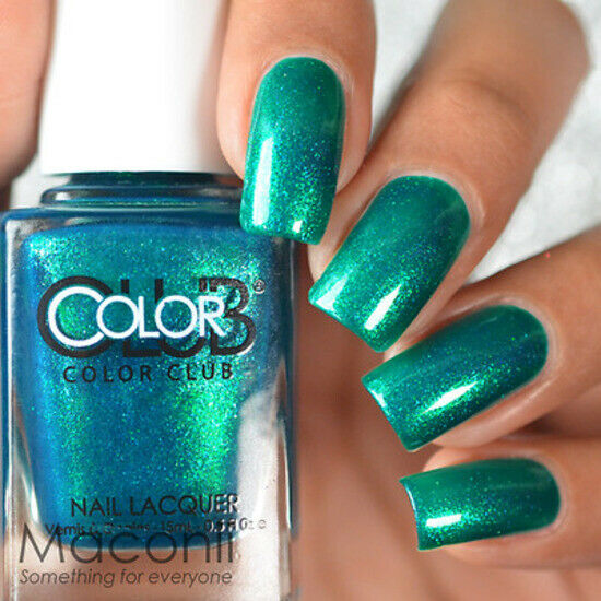 Color Club - Metamorphosis - Teal Green Metallic Blue ...