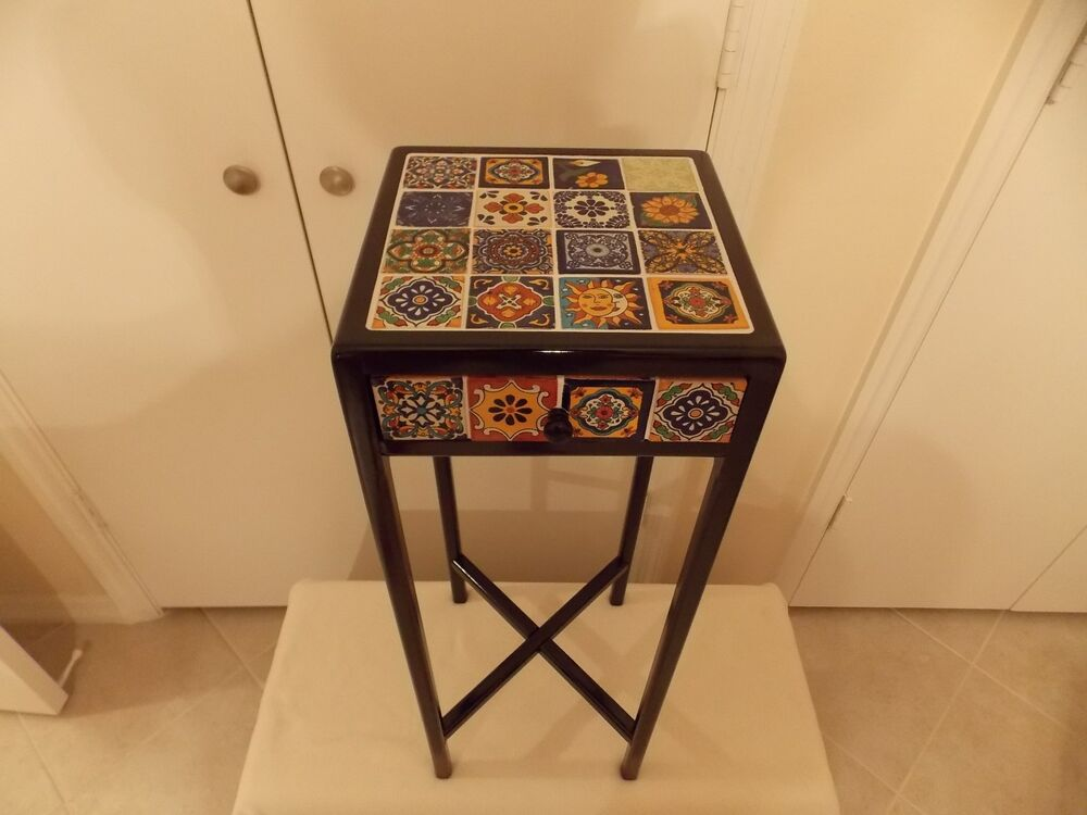 Southwestern Style Handcrafted Wood Amp Ceramic Total Tile