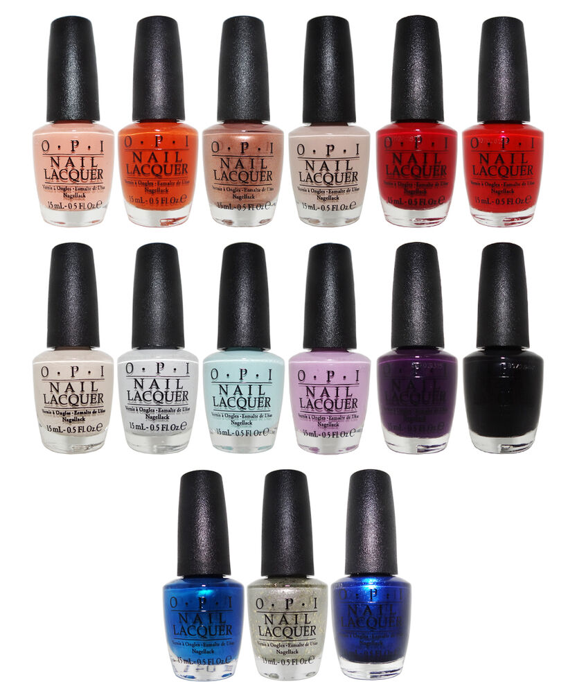 OPI Venice Collection Fall 2015 Nail Lacquer Set Of 15