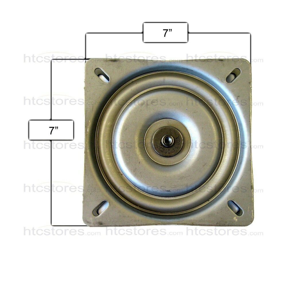 Bar Stool Replacement Flat Swivel Plate 7 Quot Made In Usa