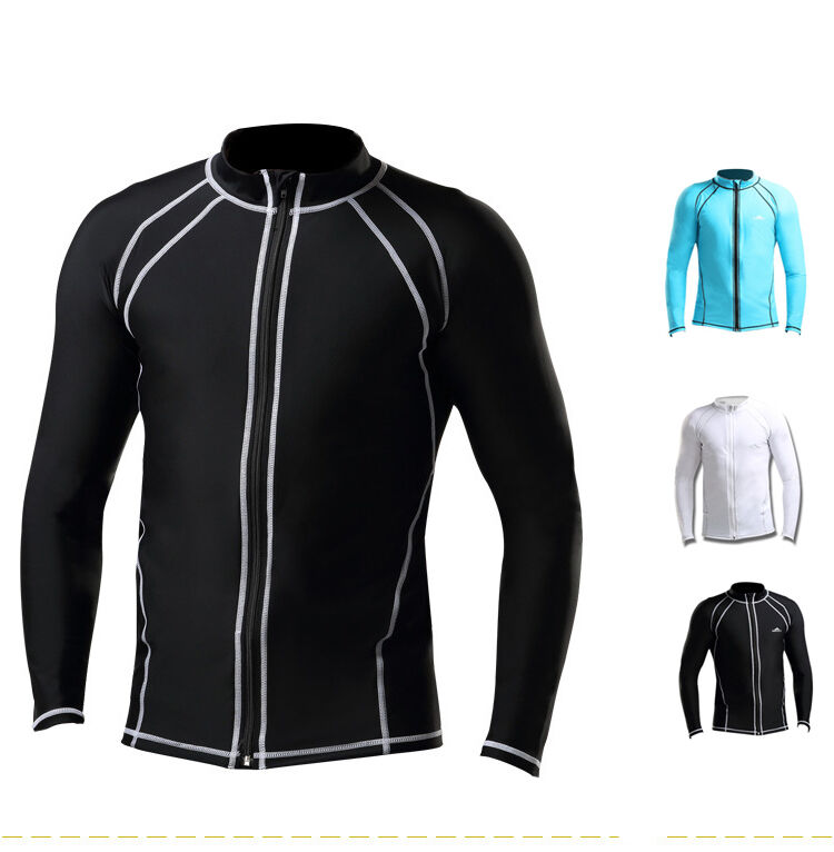 Men Swimming Surfing Clothing Long Sleeve Sun Uv