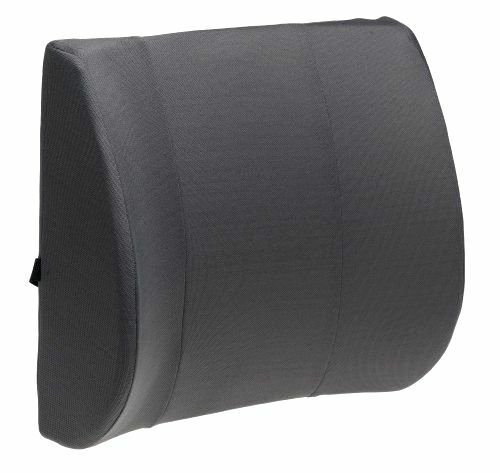 car seat lumbar support cushion lower back pillow spine align ease pain gray ebay. Black Bedroom Furniture Sets. Home Design Ideas