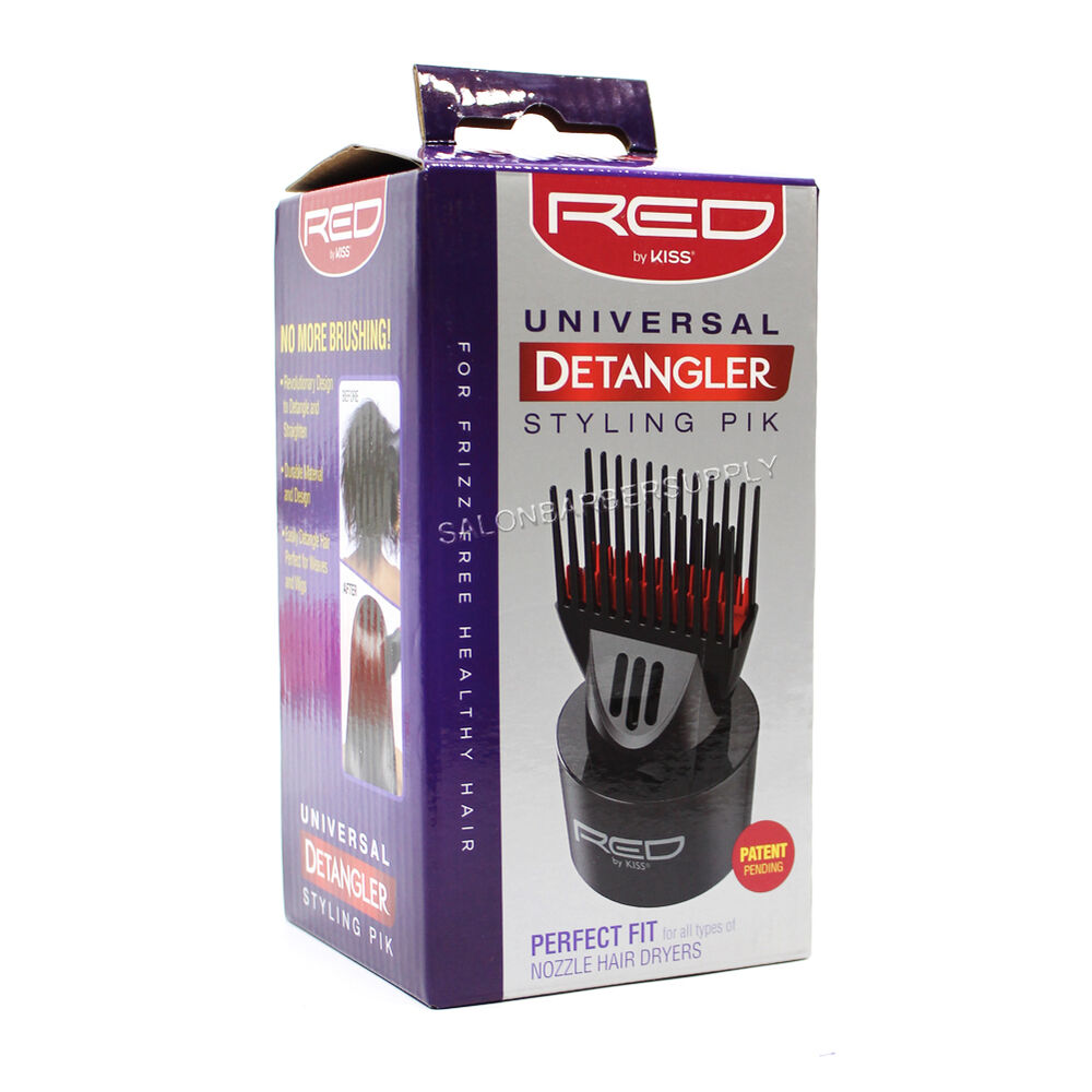 Red By Kiss Universal Detangler Styling Pik Blow Dryer