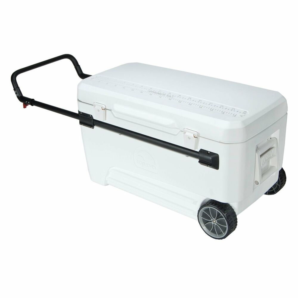Coolers With Wheels Party Igloo Fishing Rolling Portable