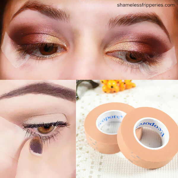 1 Roll Natural Invisible Double Eyelid Single Side