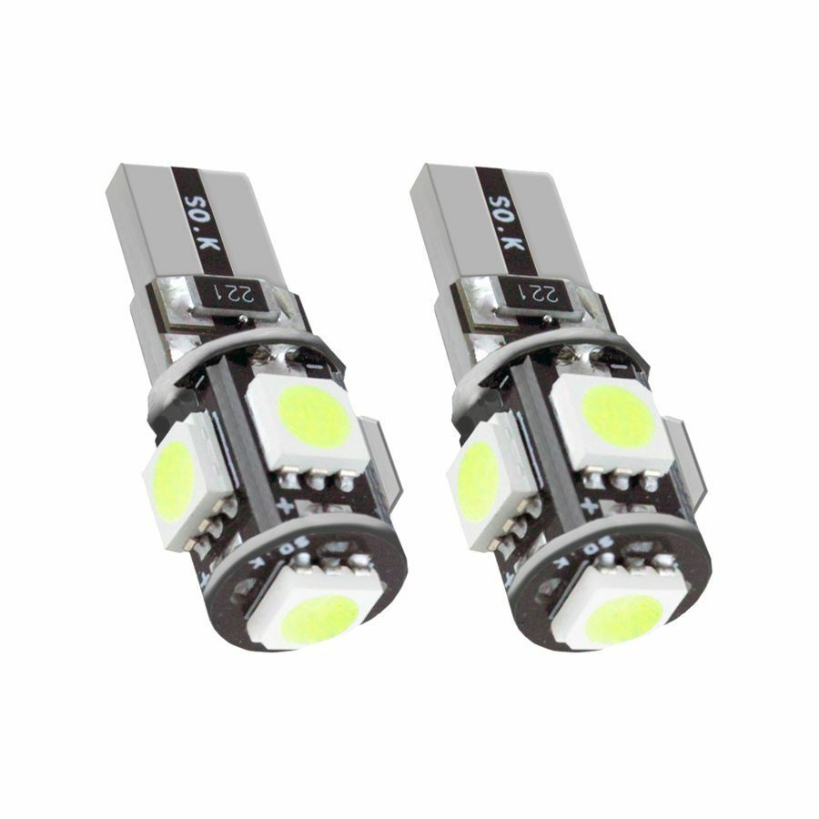 2 st ck t10 w5w auto 5 smd led lampe canbus wei 12v neu ebay. Black Bedroom Furniture Sets. Home Design Ideas