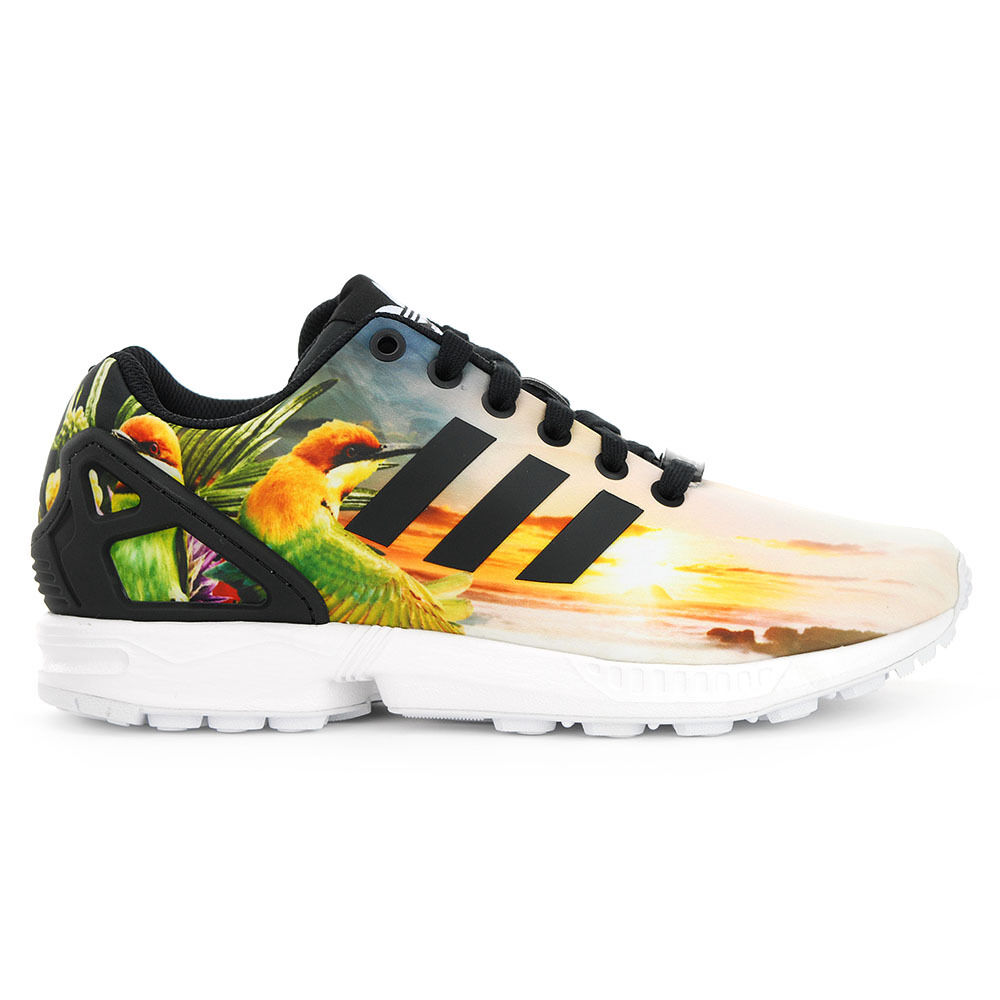 Womens White Flux Shoes