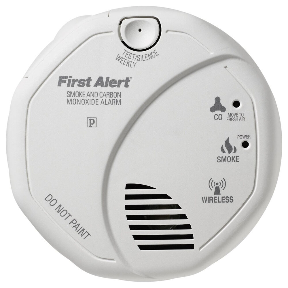 firstalert z wave smoke and carbon monoxide detector ebay. Black Bedroom Furniture Sets. Home Design Ideas