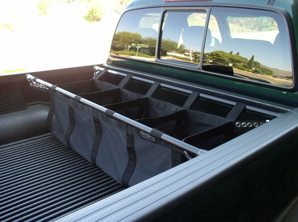 cargocatch by loadhandler mid size truck bed organizer ford chevy dodge gmc ebay. Black Bedroom Furniture Sets. Home Design Ideas