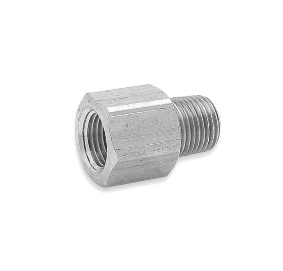 Inch in quot npt m f male female thread threaded aluminum