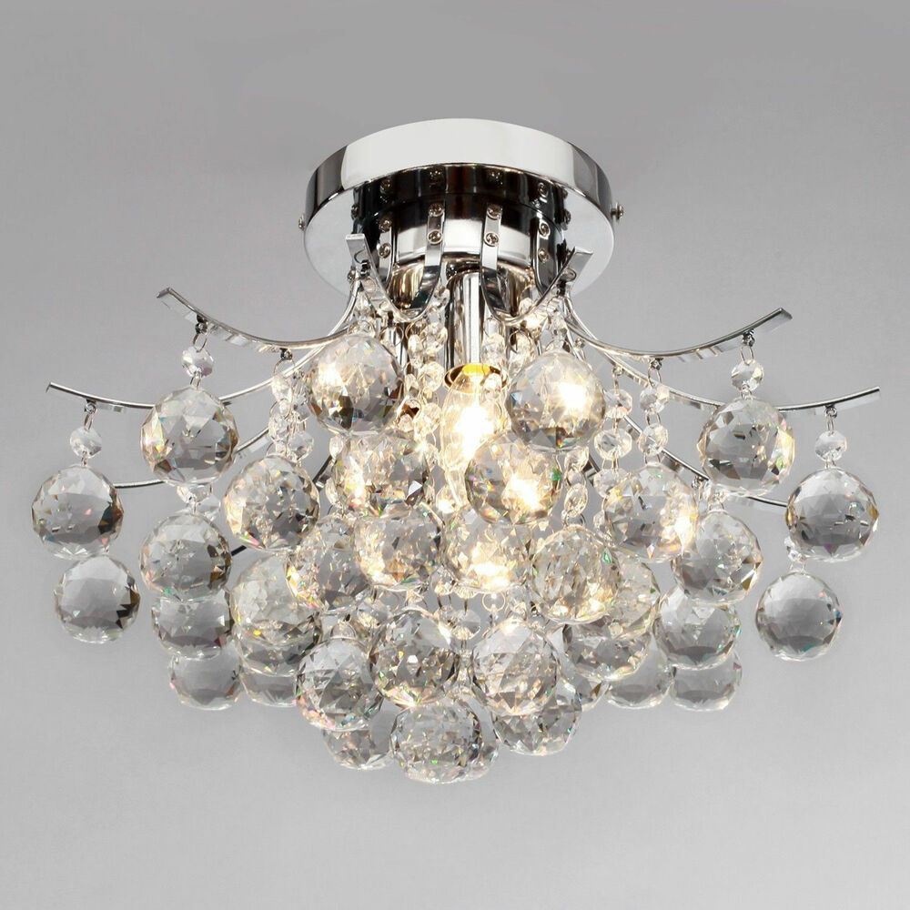New rain drop modern crystal pendant lamp ceiling lighting chandelier lighting k ebay - Light fixtures chandeliers ...