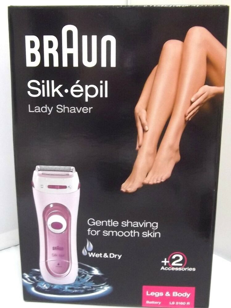 Braun Lady Shaver Leg & Body Silk Epill Battery powered Waterproof LS5160R F/S | eBay