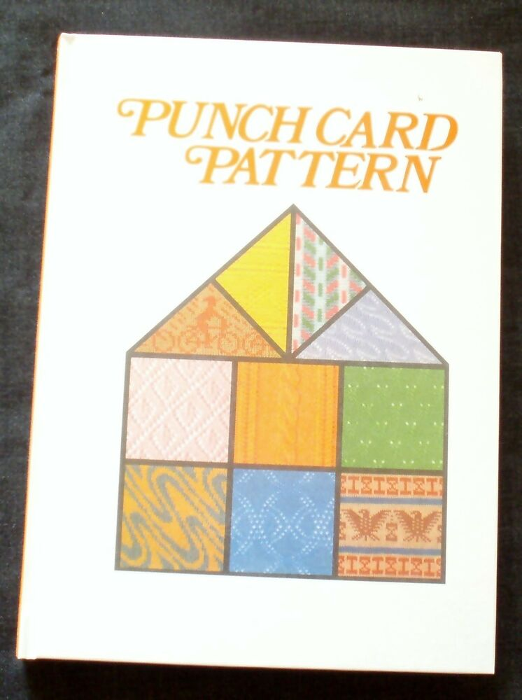 Brother Knitting Machine Patterns Free : New Pattern Book for All 24-stitch punchcard machine knitting - 1,100+ patter...