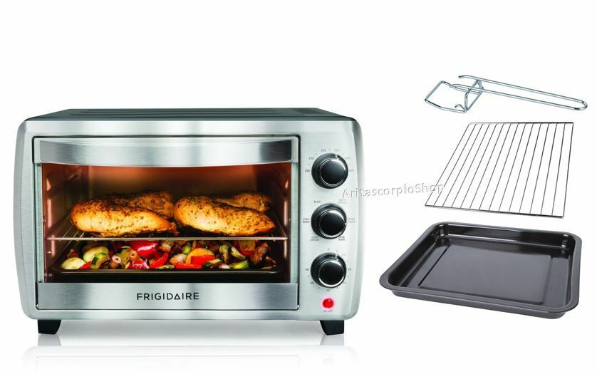 ... Pizza Oven Countertop Stainless Steel Cooking Kitchen 6slice eBay