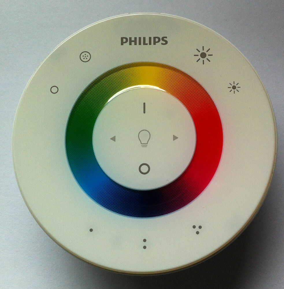 remote control for philips led light livingcolors living colours ebay. Black Bedroom Furniture Sets. Home Design Ideas