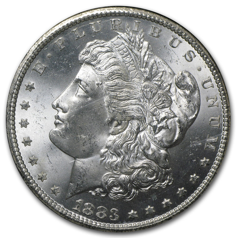 1883 Cc Morgan Silver Dollar Coin Ms 65 Ngc Gsa