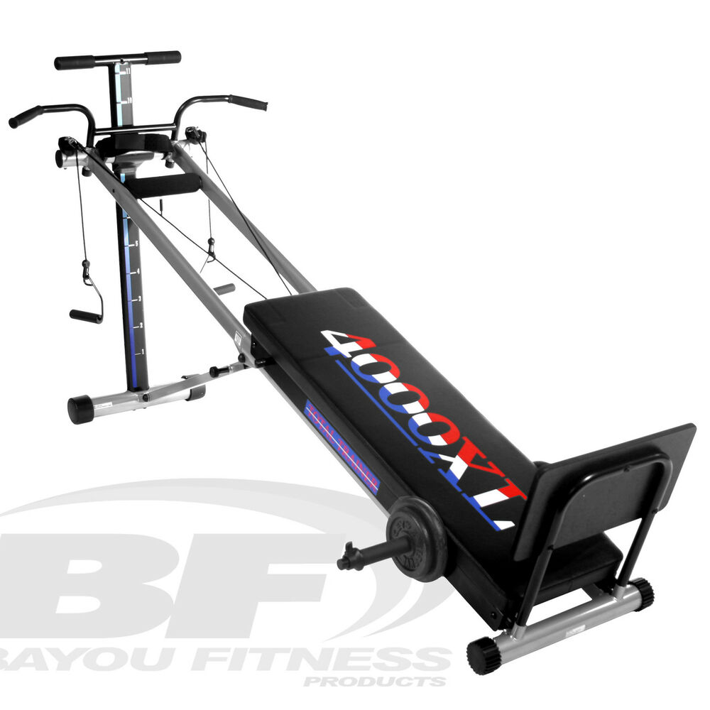 Bayou fitness total trainer home gym xl