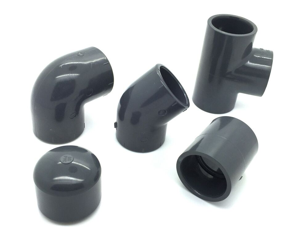 Pvc Pipe Fittings : Pvc solvent weld pipe fittings quot job lot industrial