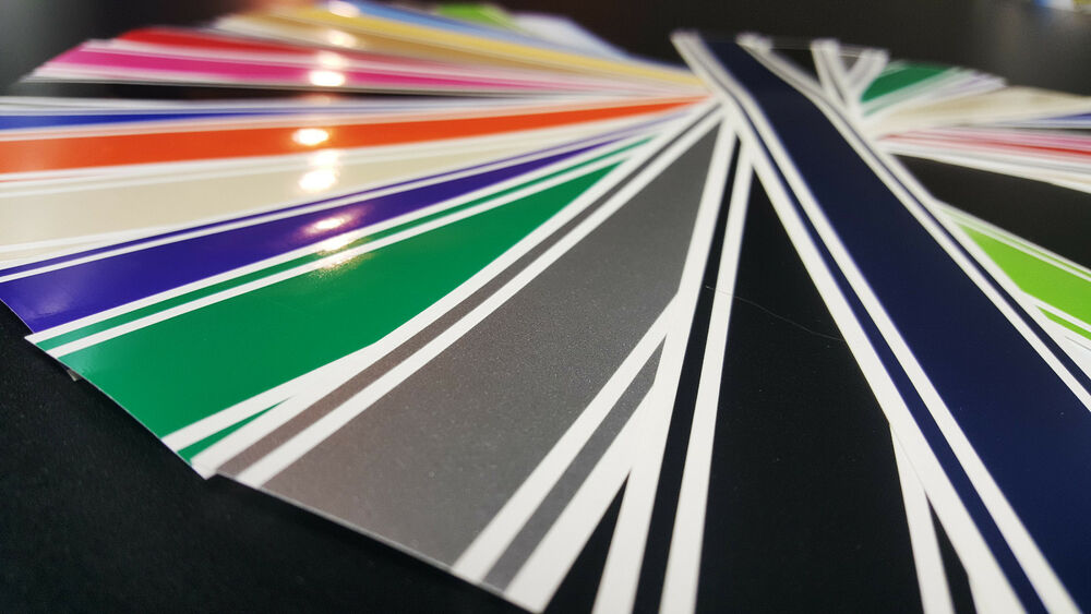"3"" x 72"" Vinyl Racing Stripe Pinstripe Decals Stickers *18 ..."