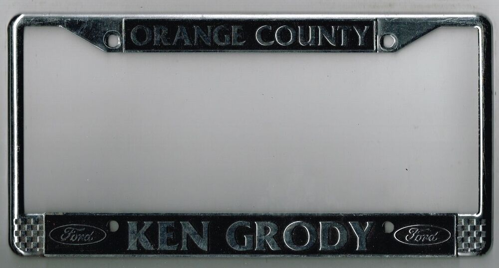 Ken Grody Ford Carlsbad >> RARE Orange County California Ken Grody Ford Vintage ...