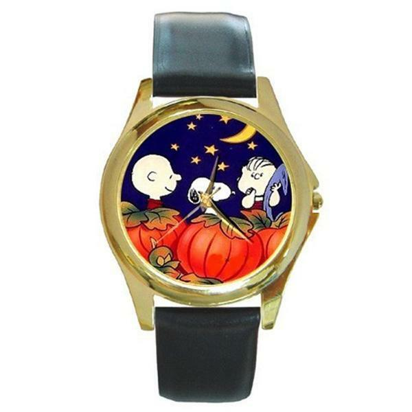 Snoopy charlie brown linus halloween watch 7 styles ebay for Snoopy watches