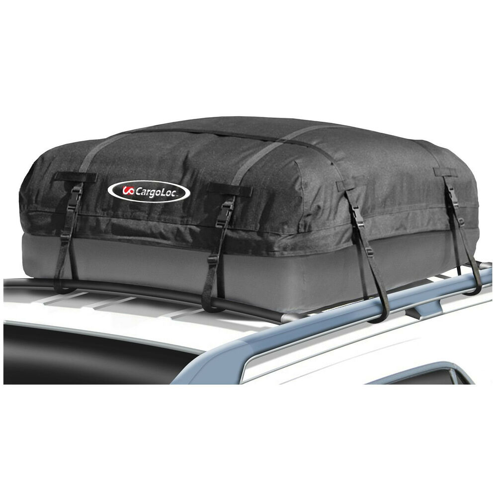 cargo waterproof roof top carrier bag rack storage luggage car rooftop travel ebay. Black Bedroom Furniture Sets. Home Design Ideas
