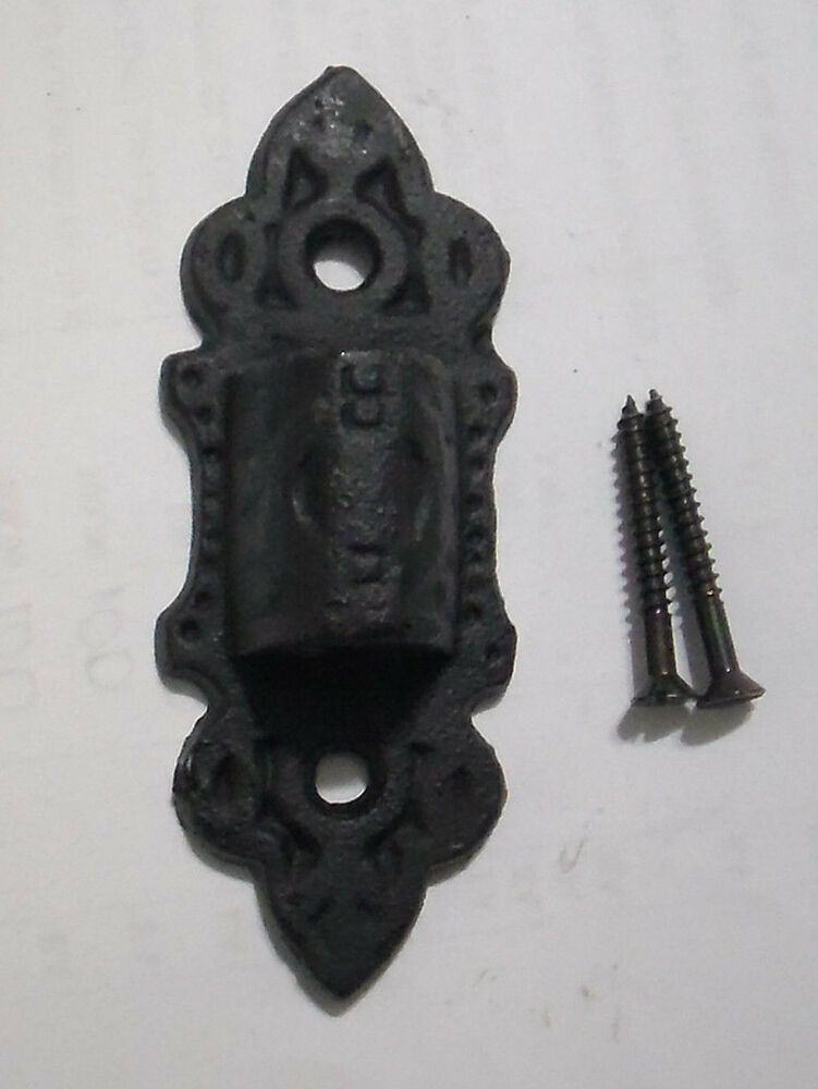Iron Wall Brackets For Lamps : NEW 3 3/8