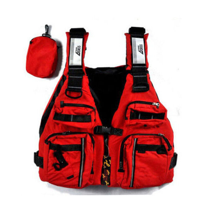New adult buoyancy aid sailing kayak canoeing fishing life for Kayak fishing vest